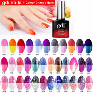 Color Changing Shellac Nail Polish