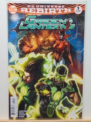 Universe Comics  CB4933 Green Lanterns #1 2nd Print Rebirth D.C