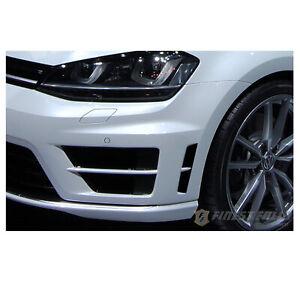 Kiemen-Folie-Schwarz-VW-Volkswagen-Golf-7-VII-MK-R-Passg-Frontschuerze-Aufkleber