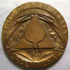 1964 This State Of New Jersey Tercentenary Medal Is large!