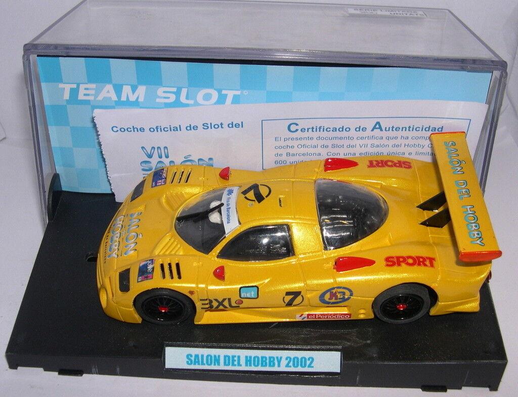 TEAM SLOT NISSAN R390 GT1 SALON DU HOBBY DE DE DE BARCELONE 2002 EDITION LIMITÉE MB a93e9e
