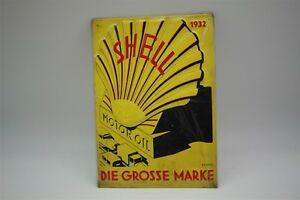 Conchiglia-Latta-Motore-Olio-Lim-Edizione-Motivo-1932-20x30-CM-Aufl-7050-No