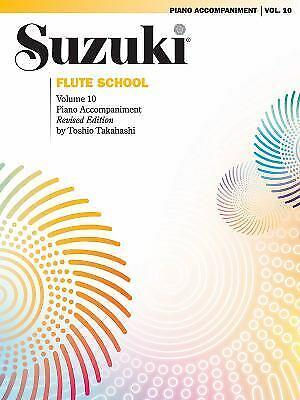 Suzuki Flute School : Piano Accompaniment Paperback Toshio Takahashi