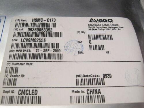 AVAGO,HSMC-C170 1,9V 170° 90mcd SMD-LED 0805 Rot 637nm 100 St= 5,98 € 20mA