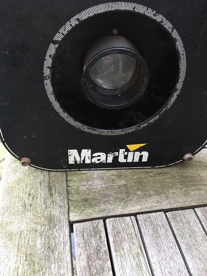 Sene belysning , Martin