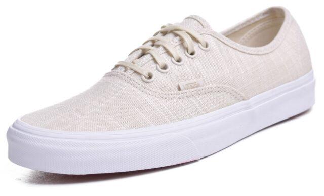 Buy VANS Authentic Hemp Linen Skate Shoes Mens 8.5 Womens 10 Turtle ... c7ebc4ae54
