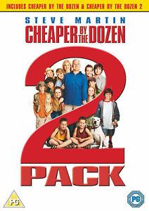 Cheaper-By-The-Dozen-Cheaper-By-The-Dozen-2-DVD-New-amp-Sealed-5039036057257