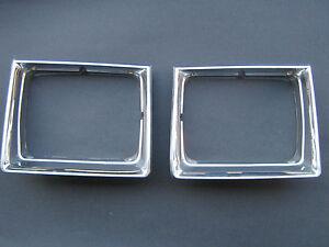 1980-1983 Chrysler Cordoba Headlight Bezel Chrome Trim