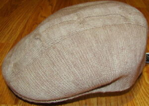 Image is loading Oatmeal-KANGOL-504-Cable-Cap-Style-K3253HT 4448a7362354
