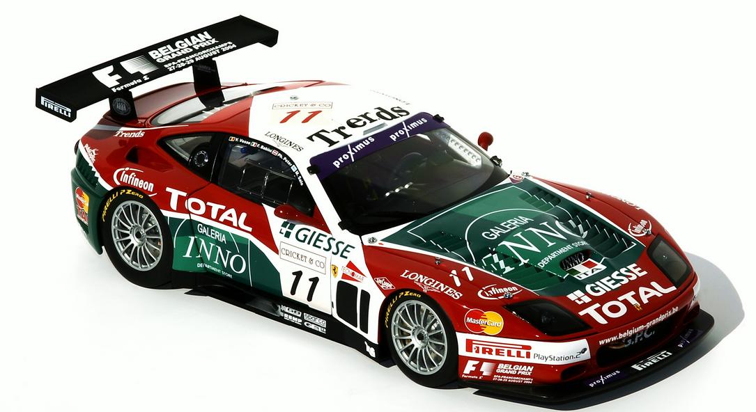 Ferrari 575GTC Team GPC Spa-Francorchamps  2004 08393A 1 18 Kyosho