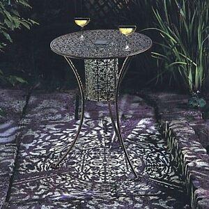 Image Is Loading Solar Ed Light Up Table Led Garden Patio
