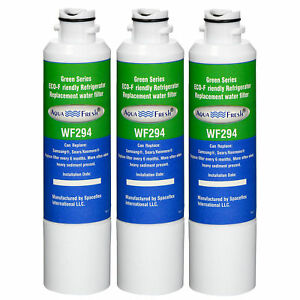 Replacement water filter cartridge for samsung RS261MDWP//XAA filter model 3 PK