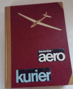 Deutscher aerokurier 1966 Aero Club E.V. 10. Jahrgang 12 Hefte gebunden