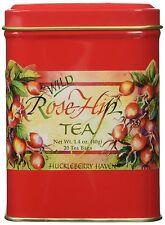 Taste The Wilderness Wild Rose Hip Tea Tin (20 Tea Bags)