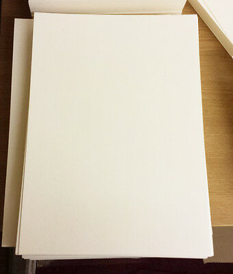 Aspirante 1000 A4 Crema/avorio Fogli Plain Spessa Craft Scheda 250gsm Scheda Stock-
