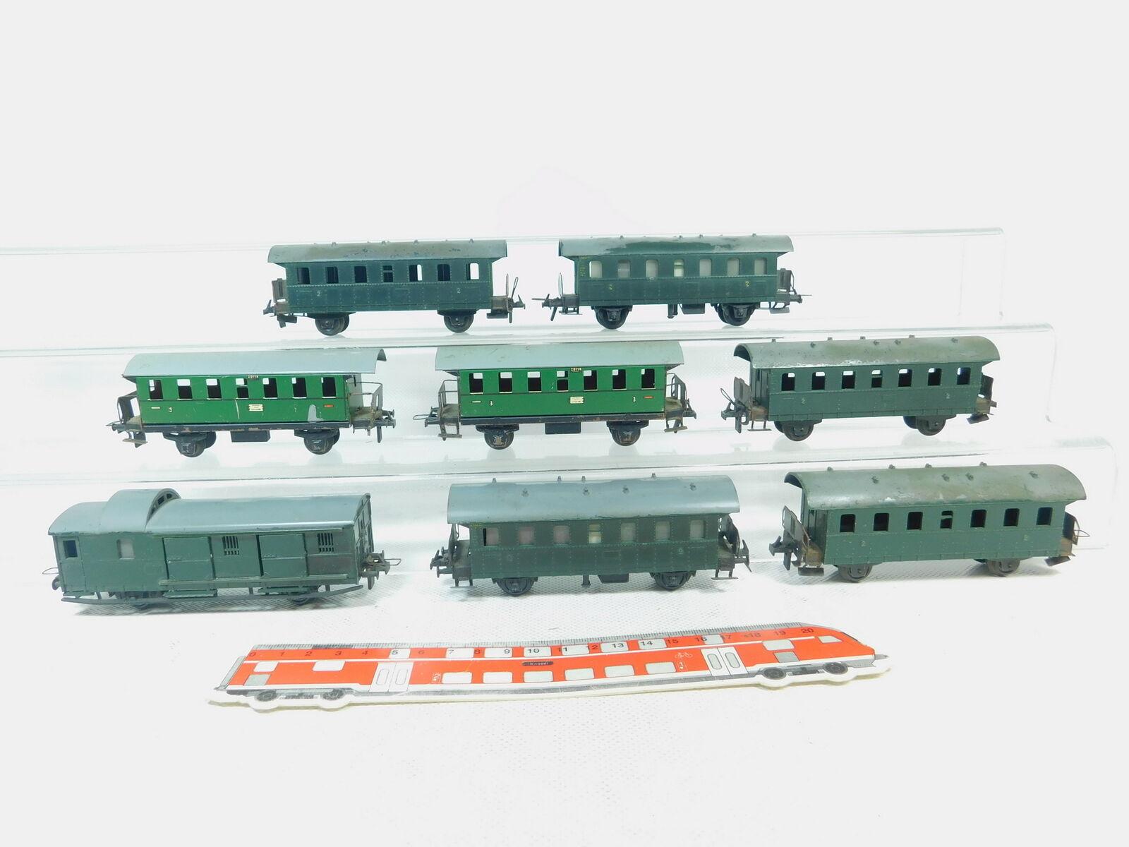Bm533-1 x Trix Express H0 DC Passenger Car 20114+ 83694 etc. ,Artisan 2nd