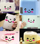 Cute Cartoon Sticker Smile Face For Toilet laptop Home Wall Decal Sticker