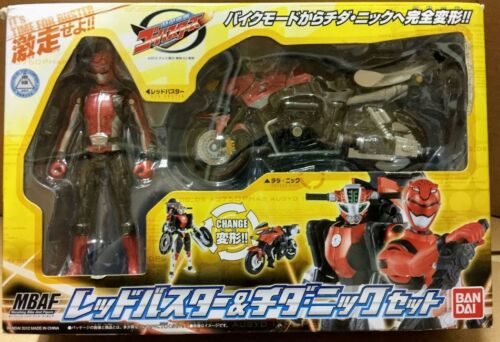 Power rangers Go-Busters MBAF Red Buster Cheeda Nick transformable set