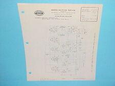 1935 UNITED MOTORS DELCO HOME RADIO SERVICE MANUAL 32 VOLT DC MODELS 3201 3202 2