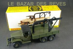 DINKY-TOYS-FRANCE-GMC-grue-depannage-REF-808-Boite