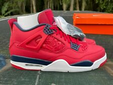 New Jordan 4 Retro Fiba Size 13 (CI1184-617)