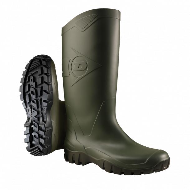Dunlop dane Knee Boots Waterproof Leisure Green Number 40