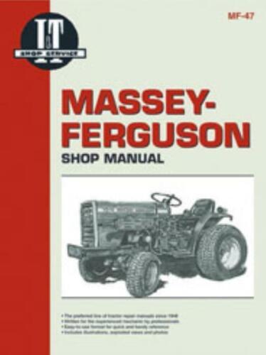 I/&t Workshop Manual Massey-Ferguson Standard /& Hydro MF101 1020 tracteur de réparation