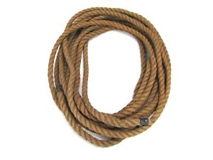 Details about 33 FT TWISTED SISAL ROPE, 1/2