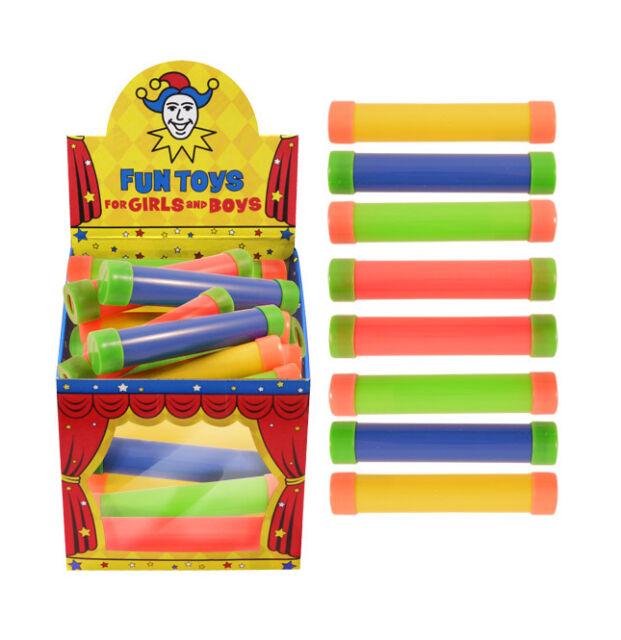Box of 24 Groan Tubes - Brand New Wholesale Pocket Money Toys