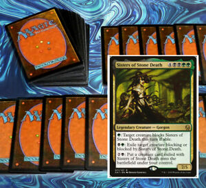 mtg-BLACK-GREEN-SISTERS-COMMANDER-EDH-DECK-Magic-the-Gathering-rare-cards-vraska