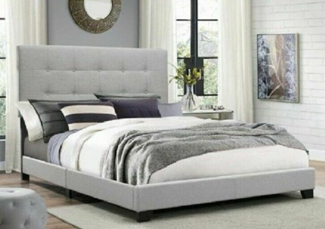 Square Dark Mocha Button Tufted All In One Bed Id 3710485 For Sale