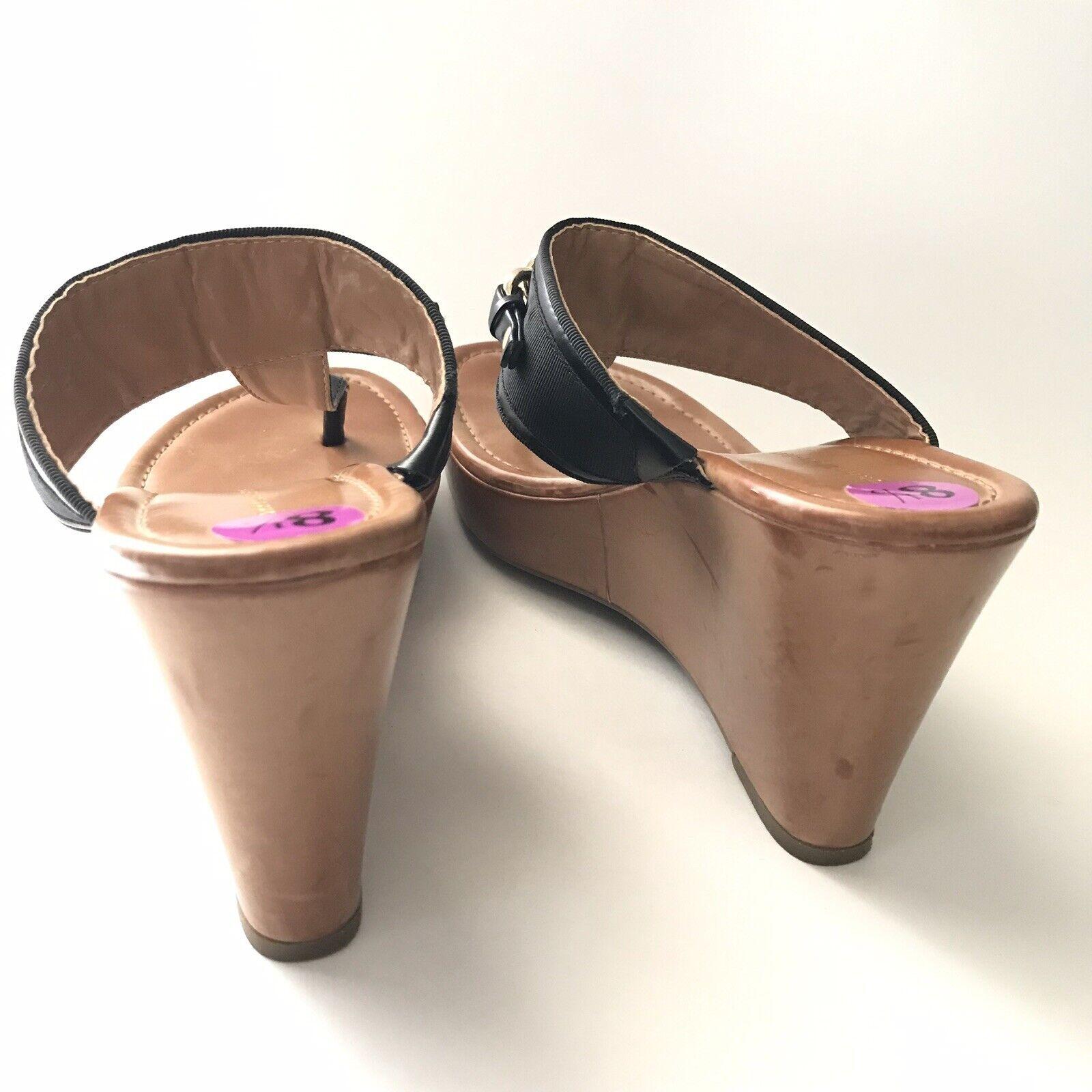 tommy hilfiger Womens Sandal Size 8.5M Melane Tho… - image 7