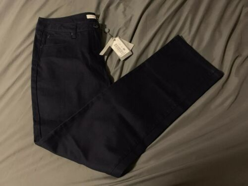 Marine Taille Nwt 12 Jeans Windsmoor Striaght qxqS5IA