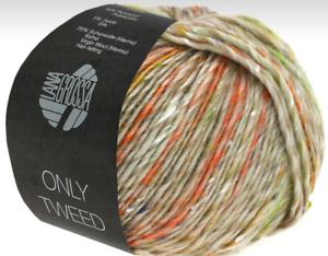 Wolle Kreativ Lana Grossa 106 natur 50 g Fb Meilenweit 50 Tweed