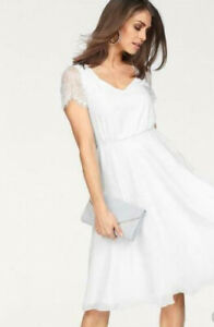 Abendkleid Spitzenkleidvon Laura Scott Kleid Damen Gr.46 ...