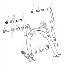 Triumph Bonneville T100 Centre Stand Kit A9758008 63/% OFF