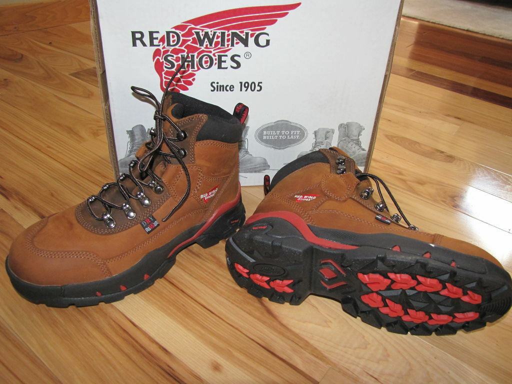 2691 NEW WOMENS RED WING STEEL TOE BOOT SHOE INSULATED WORK HIKING LEATHER EH