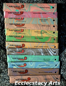 Auroshikha-12-Traditional-Woods-amp-Resins-Incense-Stick-Collection-Popular-Scents