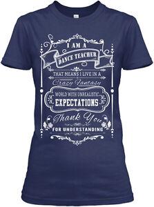 I-039-m-A-Dance-Teacher-Gildan-Women-039-s-Tee-T-Shirt