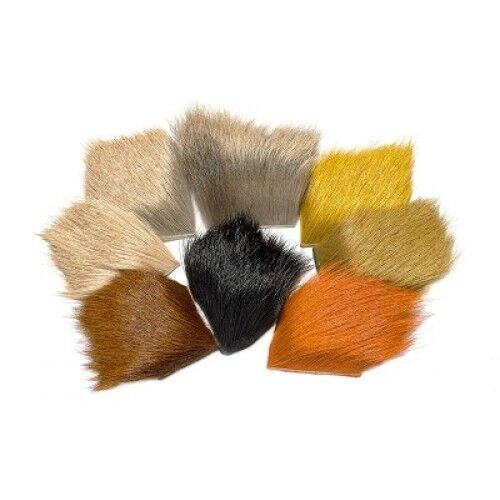 Elk Body Hair for fly tying Choice of colours Making trout flies
