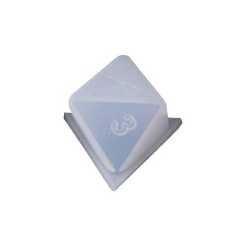 DIY Epoxy Crystal Mold Dice Fillet Shape Digital Game Multi-spec Silicone Mould