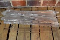 Lot Of 95 Flat Wood Dowels 3/16 Wide X 24.5 Long