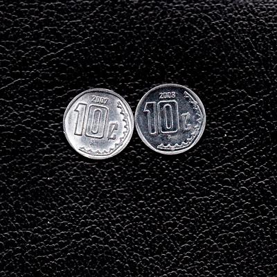 2008 Galapagos Islands 10 Centavos Iguana Lizard animal wildlife coin