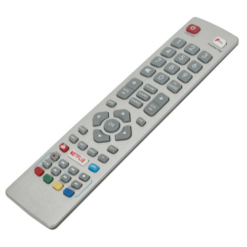 SHWRMC0121 New Remote Control for Sharp Aquos Smart TV w Netflix Freeview Play