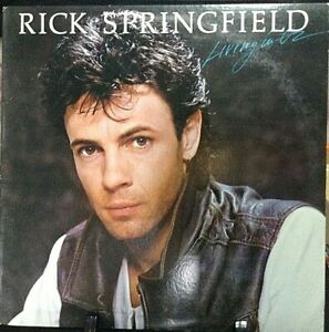 RICK SPRINGFIELD Living in OZ Released 1983 Vinyl/Record Collection US pressed