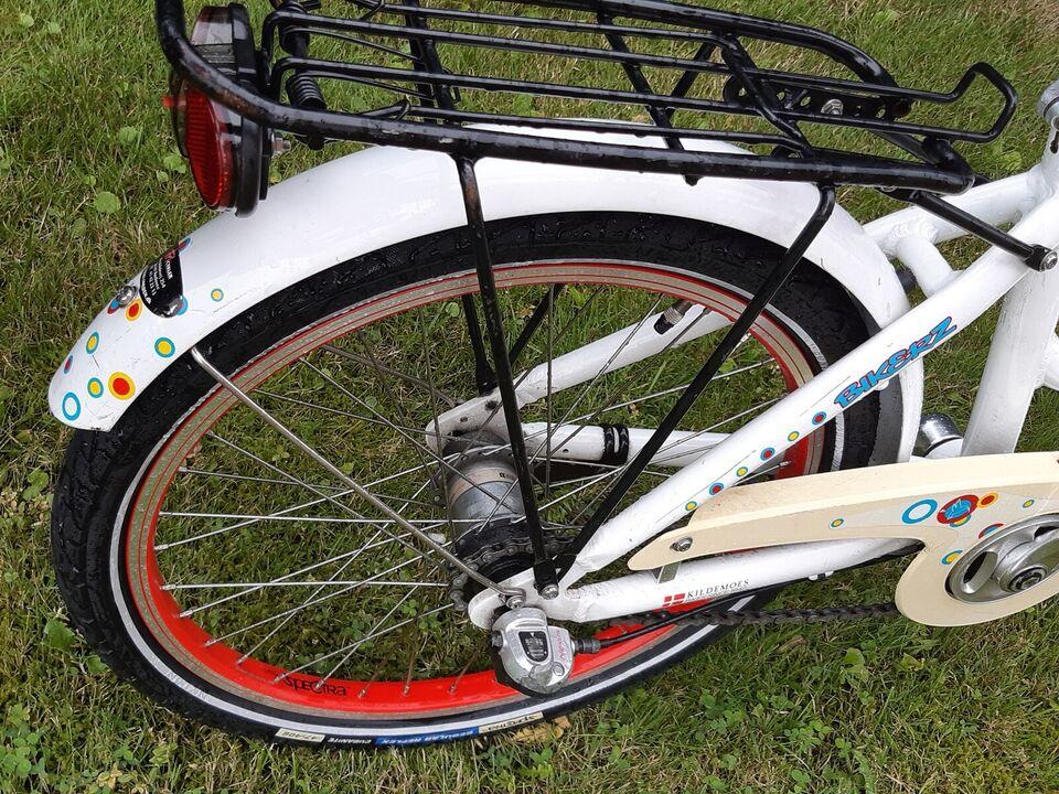 "Pigecykel, Kildemoes bikerz Retro. 20"". 3g"