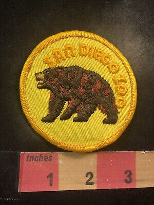 Vtg Embroidered Twill PARK Patch 00J6