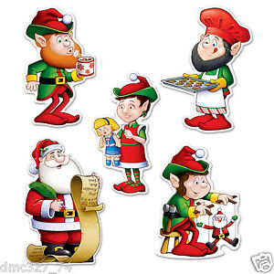 image is loading 10 christmas holiday party decorations paper beistle die