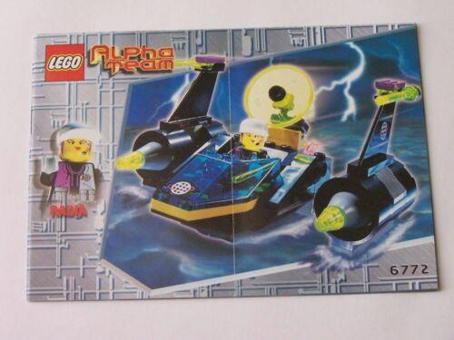 Instruction Nr 6772 LEGO® Bauanleitung