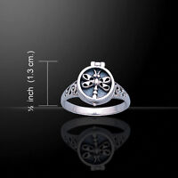 Dragonfly Poison .925 Sterling Silver Ring By Peter Stone